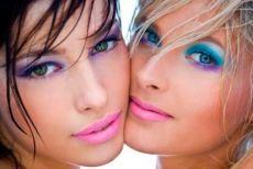 макияж для светло-голубых глаз