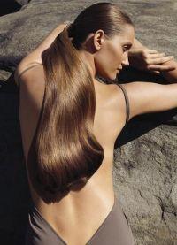 Прическа хвост фото