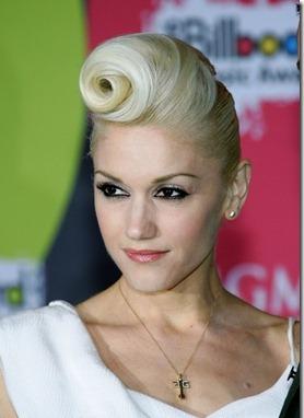 Gwen Stefani retro hairstyle 50s