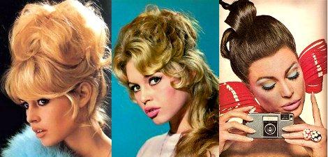 Прически в стиле 60-х