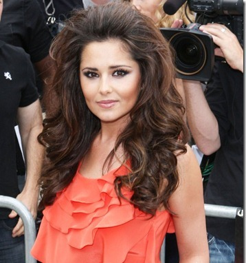 cheryl-cole-bouffant-retro hairstyle 60s