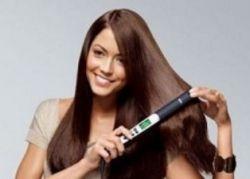 химическое выпрямление волос дома