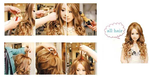 Как красиво уложить средние волосы в домашних условиях