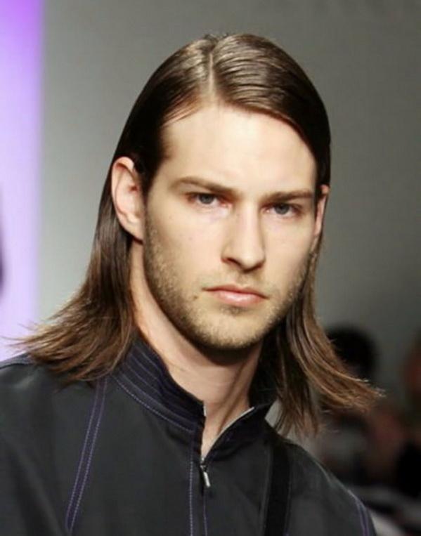 мужские прически для длинных волос