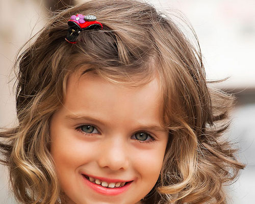 Фото прически для девочек в детский сад на выпускной 20