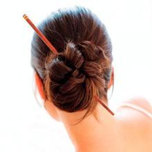 Как сделать причёску с китайскими палочками