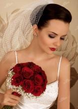 Свадебные прически с фатой своими руками