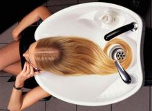 Инструменты и деление волос на зоны