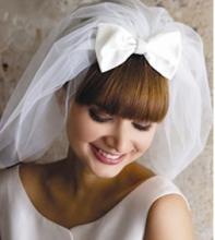 Прически с фатой для свадьбы