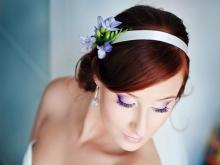 Свадебные прически с лентой