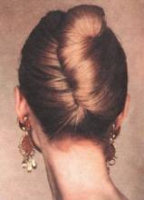Ракушка из волос своими руками