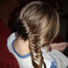 вечерние прически с косами